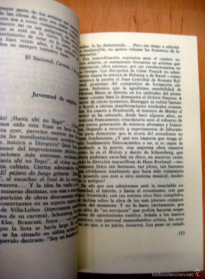 Libros de segunda mano: ALEJO CARPENTIER - ESE MUSICO QUE LLEVO DENTRO - LA MUSICA EN CUBA - Foto 2 - 56810345