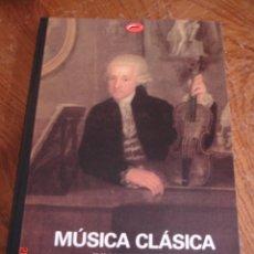 Libros de segunda mano: MÚSICA CLÁSICA.DE GLUCK A BEETHOVEN - JULIAN RUSHTON - EDICIONES DESTINO, 1998 - MUY BUEN ESTADO. Lote 57129990