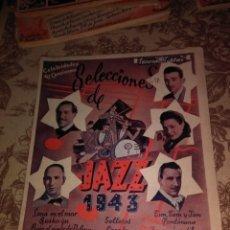 Libros de segunda mano: SELECCIONES DE JAZZ 1943. Lote 57648013