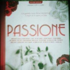 Libros de segunda mano: LIBRO PASSIONE +2CDS. Lote 57709500
