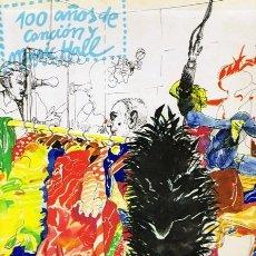 Libros de segunda mano: 100 AÑOS DE CANCIÓN Y MUSIC HALL. Lote 57850397