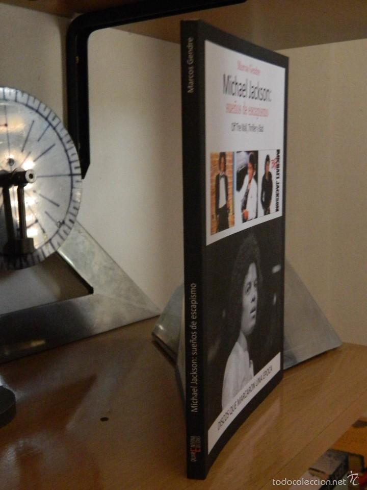 Libros de segunda mano: Michael Jackson: sueños de escapismo - Marcos Gendre - 2015 - Foto 2 - 57947921