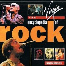 Libros de segunda mano: THE VIRGIN ENCYCLOPEDIA OF ROCK MICHAEL HEATLEY . Lote 57970923