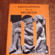 Libros de segunda mano: ENCICLOPEDIA DE LA MÚSICA - FRANK ONNEN - AFRODISIO AGUADO EDITORES, 1967 - PRIMERA EDICIÓN. Lote 58974135