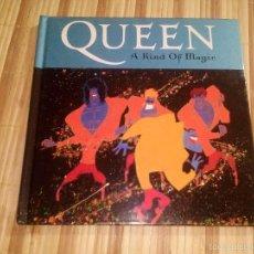 Libros de segunda mano: QUEEN. A KIND OF MAGIC - LIBRO-CD. Lote 60785635