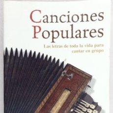 Canciones Populares Las Letras De Toda La Vida Vendido En Venta