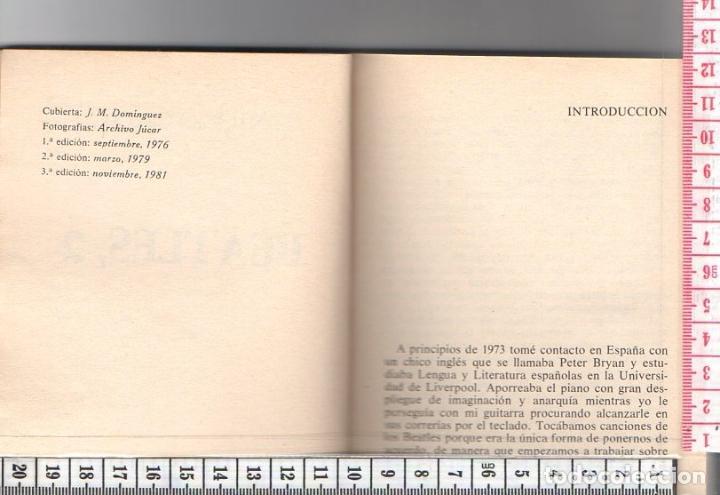 Libros de segunda mano: 23.292 LIBRO, BEATLES 2, ANTONIO CILLERO, EDICIONES JUCAR, COLECCION LOS JUGLARES, AÑO 1981 - Foto 2 - 66150718