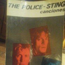 Libros de segunda mano: THE POLICE.STING.CANCIONES.ESPIRAL. Lote 67049463