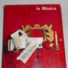 Libros de segunda mano: LA MUSICA. TOMO 1 Y 2. NORBERT DUFOURCQ. EDITORIAL PLANETA. 1965. Lote 68634281