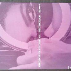 Libros de segunda mano: PRINCE. 21 NIGHTS. RANDEE ST NICHOLAS. LIBRO + CD TOTALMENTE NUEVO. Lote 70151553