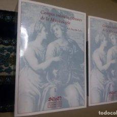 Libros de segunda mano: CAMPOS INTERDISCIPLINARES DE LA MUSICOLOGÍA LOLO, BEGOÑA.. Lote 71040817