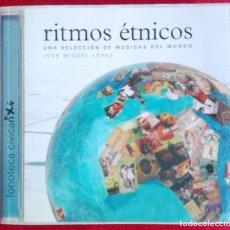 Libros de segunda mano: RITMOS ÉTNICOS: UNA SELECCIÓN DE MÚSICAS DEL MUNDO -JOSE MIGUEL LOPEZ . Lote 71841715