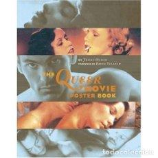 Libros de segunda mano: THE QUEER MOVIE POSTER -LIBRO CARTELES DE CINE DE TEMATICA TRAVESTI O TRANSEXUAL - GAY. Lote 72037927