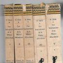 Libros de segunda mano: LOS INSTRUMENTOS DE LA MUSICA AFROCUBANA. FERNANDO ORTIZ. 5 TOMOS. CARDENAS Y CIA. 1955. LEER. Lote 73635599