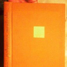 Libros de segunda mano: POLEMICA MUSICALE RENZO ROSSELLINI 1962 RICORDI DEDICATÒRIA AUTÒGRAFA A XAVIER MONTSALVATGE LE VOCI. Lote 75570587