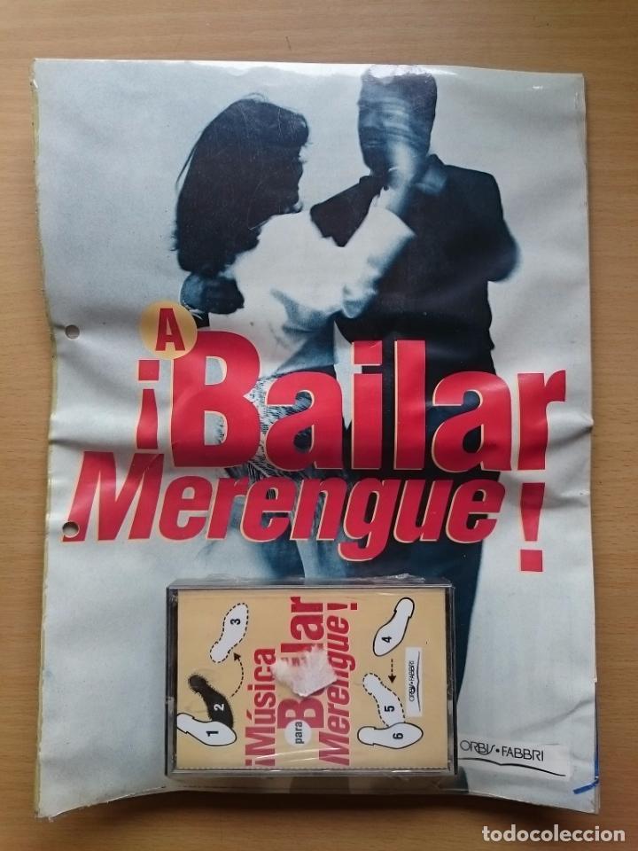 MUSICA PARA BAILAR ~ MERENGUE ~ CASETE ~ FASCICULO (Libros de Segunda Mano - Bellas artes, ocio y coleccionismo - Música)