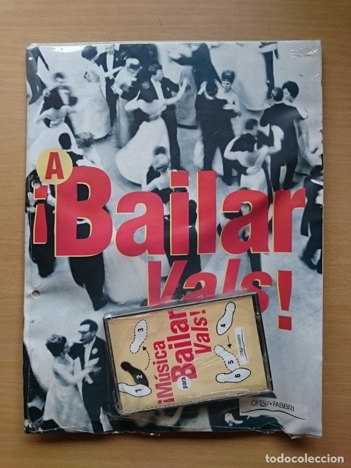 MUSICA PARA BAILAR ~ VALS ~ CASETE ~ FASCICULO (Libros de Segunda Mano - Bellas artes, ocio y coleccionismo - Música)