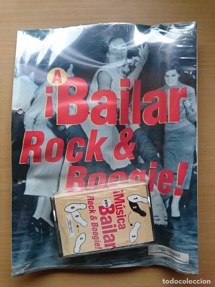 MUSICA PARA BAILAR ~ ROCK & BOOGIE ~ CASETE ~ FASCICULO (Libros de Segunda Mano - Bellas artes, ocio y coleccionismo - Música)