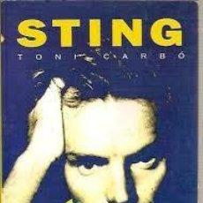 Libros de segunda mano: STING,TONI CARBO. Lote 78144153