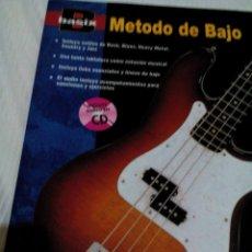 Libros de segunda mano: C3_REVISTA_BASIX, METODO BAJO,APRENDER GUITARRA ,ROCK/ BLUES/HEAVY METAL/COUNTRY Y JAZZ,MIDE 30X22CM. Lote 78907633