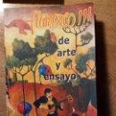 Libros de segunda mano: LIBRO FLAMENCO DE ARTE Y ENSAYO. LUIS CLEMENTE. Lote 80661718