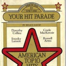 Libros de segunda mano: AMERICAN TOP 10 HITS 1958-1984 - BRUCE ELROD - LISTAS DE ÉXITOS. Lote 81713364