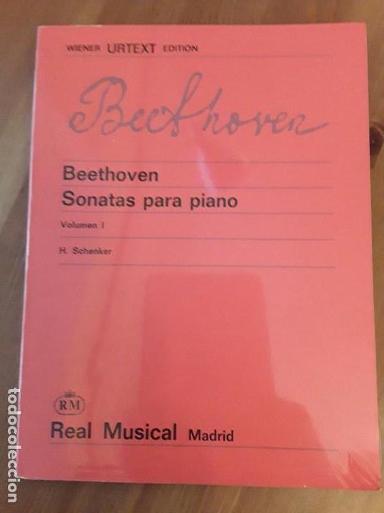 BEETHOVEN SONATAS PARA PIANO VOLUMEN I H.SCHENKER EDITION URTEXT WIENER (Libros de Segunda Mano - Bellas artes, ocio y coleccionismo - Música)