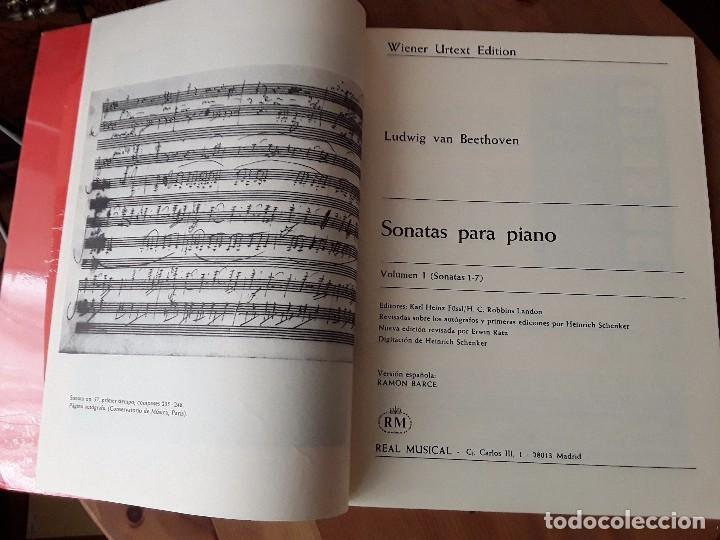 Libros de segunda mano: BEETHOVEN SONATAS PARA PIANO VOLUMEN I H.SCHENKER EDITION URTEXT WIENER - Foto 3 - 83574816