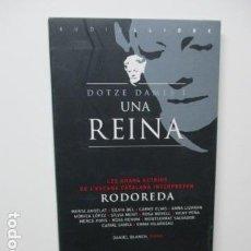 Libros de segunda mano: DOTZE DAMES I UNA REINA - LES GRANS ACTRIUS CATALANES INTERPRETEN MERCE RODOREDA - 2 CD'S . Lote 85143988