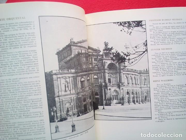 Libros de segunda mano: LIBRETO OPERA ESTATAL DE DRESDE TEATRO DE LA ZARZUELA 1984 800 GRS 28 CMS - Foto 2 - 86265568