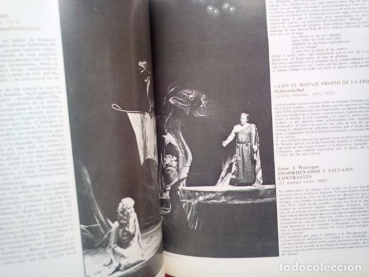 Libros de segunda mano: LIBRETO OPERA ESTATAL DE DRESDE TEATRO DE LA ZARZUELA 1984 800 GRS 28 CMS - Foto 4 - 86265568
