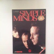 Libros de segunda mano: IMAGENES DE ROCK Nº42: SIMPLE MINDS/EDITORIAL LA MASCARA. Lote 86379956