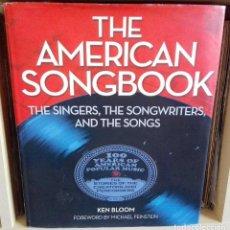 Libros de segunda mano: THE AMERICAN SONGBOOK -SINGERS, SONGWRITERS AND THE SONGS -EXCEPCIONAL LIBRO GRAN FORMATO - JAZZ. Lote 86519384