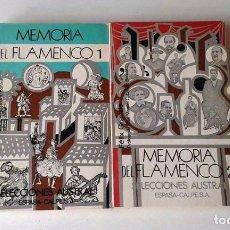 Libros de segunda mano: FÉLIX GRANDE: MEMORIA DEL FLAMENCO 2 TOMOS (OBRA COMPLETA). Lote 86991844