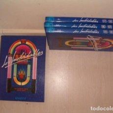 Libros de segunda mano: LOS INOLVIDABLES 1, 2, 3 Y 4. CUATRO TOMOS. RM80941. . Lote 87055164
