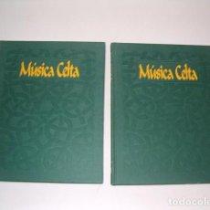 Libros de segunda mano: MÚSICA CELTA 1Y 2. DOS TOMOS. RM80943. . Lote 87055408