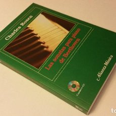Libros de segunda mano - 2005 - CHARLES ROSEN - LAS SONATAS PARA PIANO DE BEETHOVEN - ALIANZA MÚSICA, CONTIENE CD - 87261172