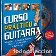 Libros de segunda mano: CURSO PRÁCTICO DE GUITARRA CON DOS CD´S - JOSEP TRAVER LLADÓ. Lote 89071972