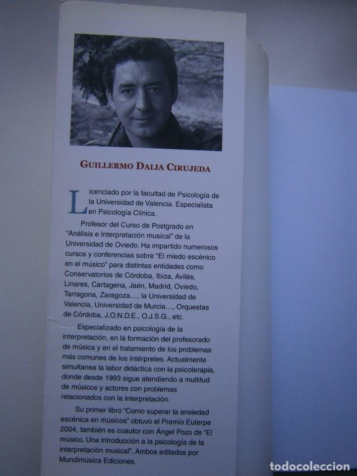 Libros de segunda mano: COMO SER FELIZ SI ERES MUSICO O TIENES UNO CERCA Guillermo Dalia Cirujeda Mundimusica 2008 - Foto 9 - 91080050