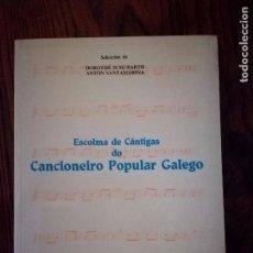 Libros de segunda mano: ESCOLMA DE CANTIGAS DO CANCIONEIRO POPULAR GALEGO .1991. Lote 91720755