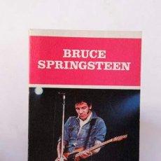Libros de segunda mano: BRUCE SPRINGSTEEN .- JAVIER PÉREZ DE ALBÉNIZ- 1986 , LOS JUGLARES 61 . Lote 92117635