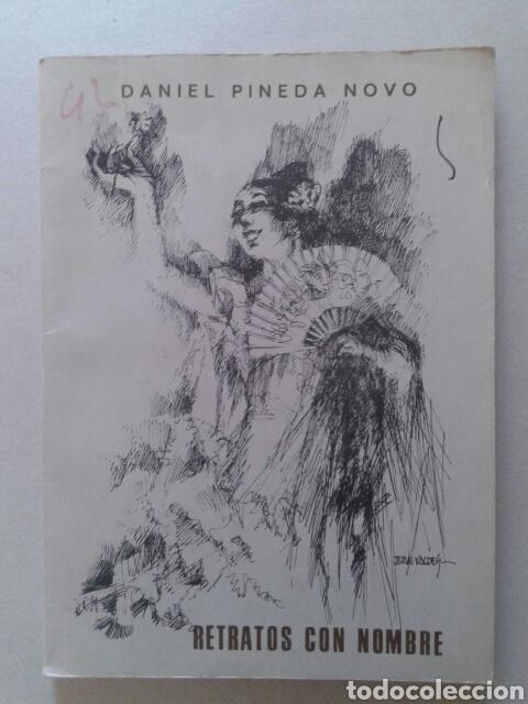 RETRATOS CON NOMBRE, DE DANIEL PINEDA NOVO (ASOCIACIÓN FRANCOS, 1987). CANCIÓN ANDALUZA (Libros de Segunda Mano - Bellas artes, ocio y coleccionismo - Música)