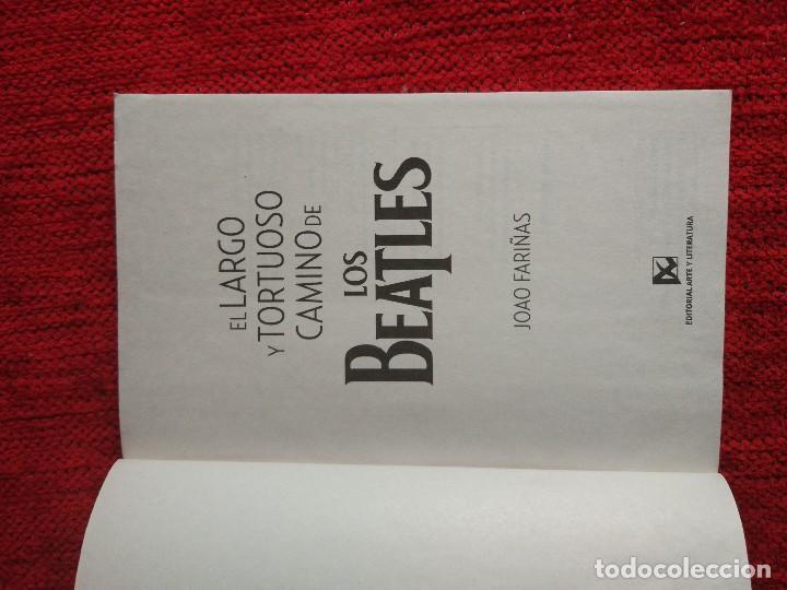Libros de segunda mano: Largo y tortuoso camino de LOS BEATLES Joao Fariñas editorial arte y literatura La Habana - Foto 2 - 93680820