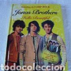 Libros de segunda mano: LIBRO JONAS BROTHERS. Lote 94216375