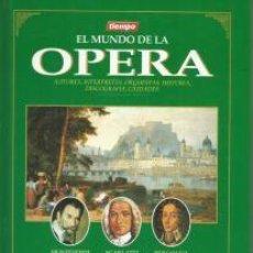 Libros de segunda mano: EL MUNDO DE LA ÓPERA. VOLUMEN I. EL DESCUBRIMIENTO ITALIANO – VV.AA. Lote 95783563