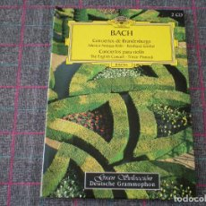 Libros de segunda mano: LIBRO GRAN SELECCIÓN DEUTSCHE GRAMMOPHON DE BACH. . Lote 95795279