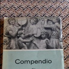 Libros de segunda mano: COMPENDIO DE LA HISTORIA DE LA MUSICA. JOSE SUBIRA. Lote 97135339