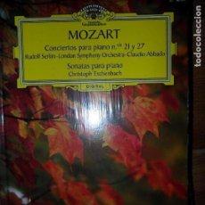 Libros de segunda mano - Mozart, Conciertos para piano 21 y 27, y Sonatas, precintado, 2 CD - 97909299