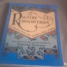 Libros de segunda mano: RAGTIMES REDISCOVERIES . 64 TRABAJOS DE LA EDAD DE ORO DEL RAG .. Lote 97932535