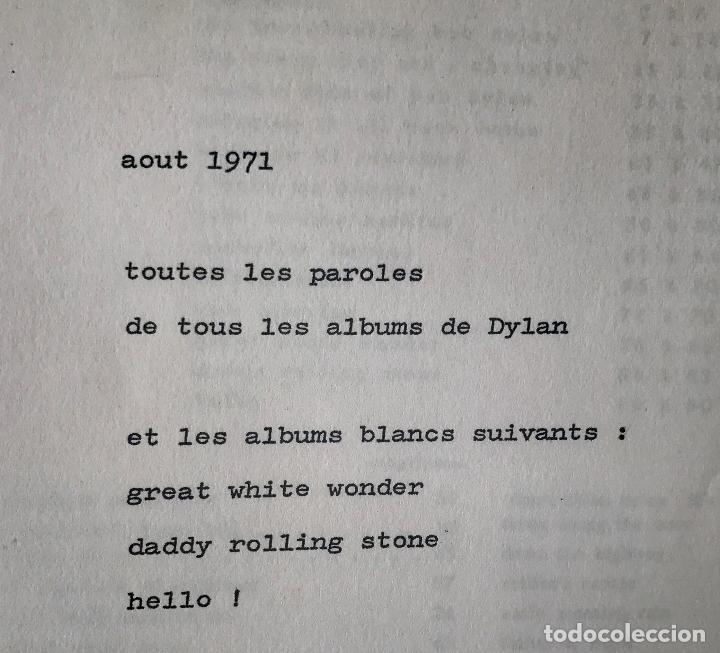 Dylan 90 Páginas Las Letras En Inglés De Las C Comprar Libros De